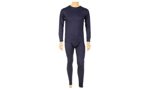 Knocker's Men's 2pc Long Thermal Underwear Set - NAVY