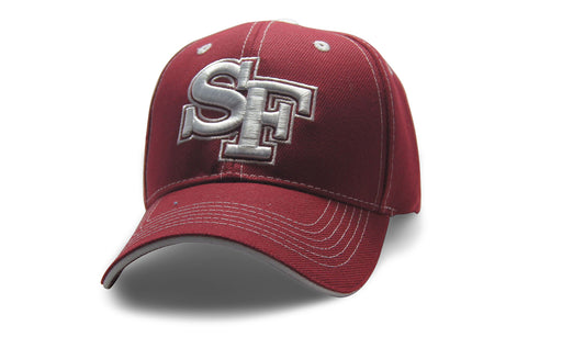 City Initals San Fransisco Burgundy n White