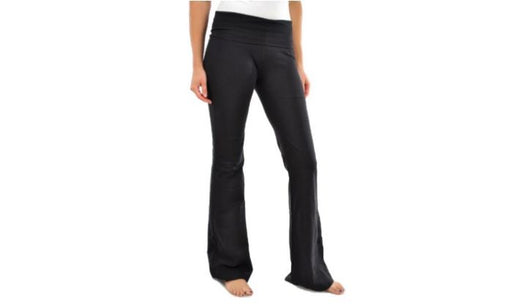 Women's Yoga Pant Black Color Flared Boot cut
