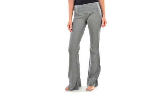 Women's Yoga Pant Blanca Boot cut Flared Grey Color
