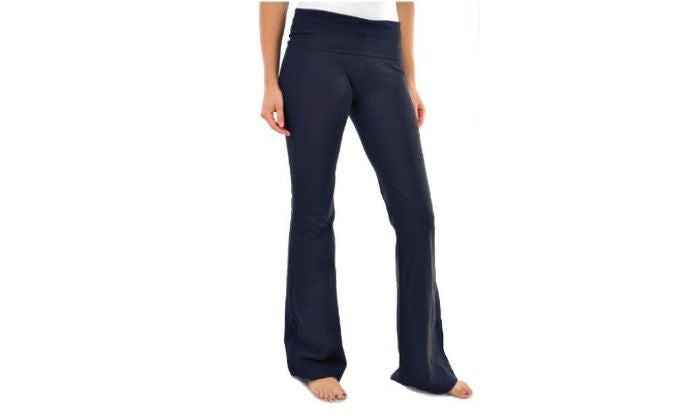 Yoga Pants for Women Blanca Boot cut Flared Navy Color