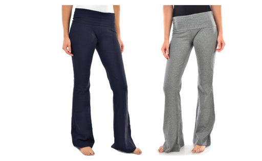Women's Yoga Pant Pack of 2 Boot cut Flared