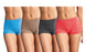 Blanca Women's Seamless Spandex Heathered Boyshort Panties (6 Pack) LP0204SB