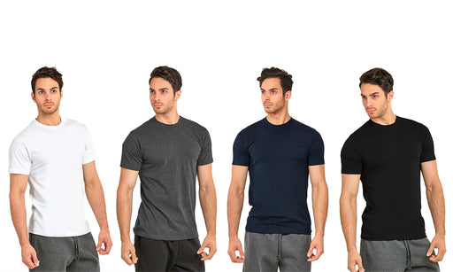 Knocker Men's Heavy Crew Neck T-Shirt (3 Pack)