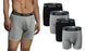 Knocker Men's All Cotton Boxer Briefs. Big Sizes Available. (12 Pack)