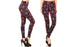 Blanca Women's Full-Length Poly Brushed Paisley Leggings
