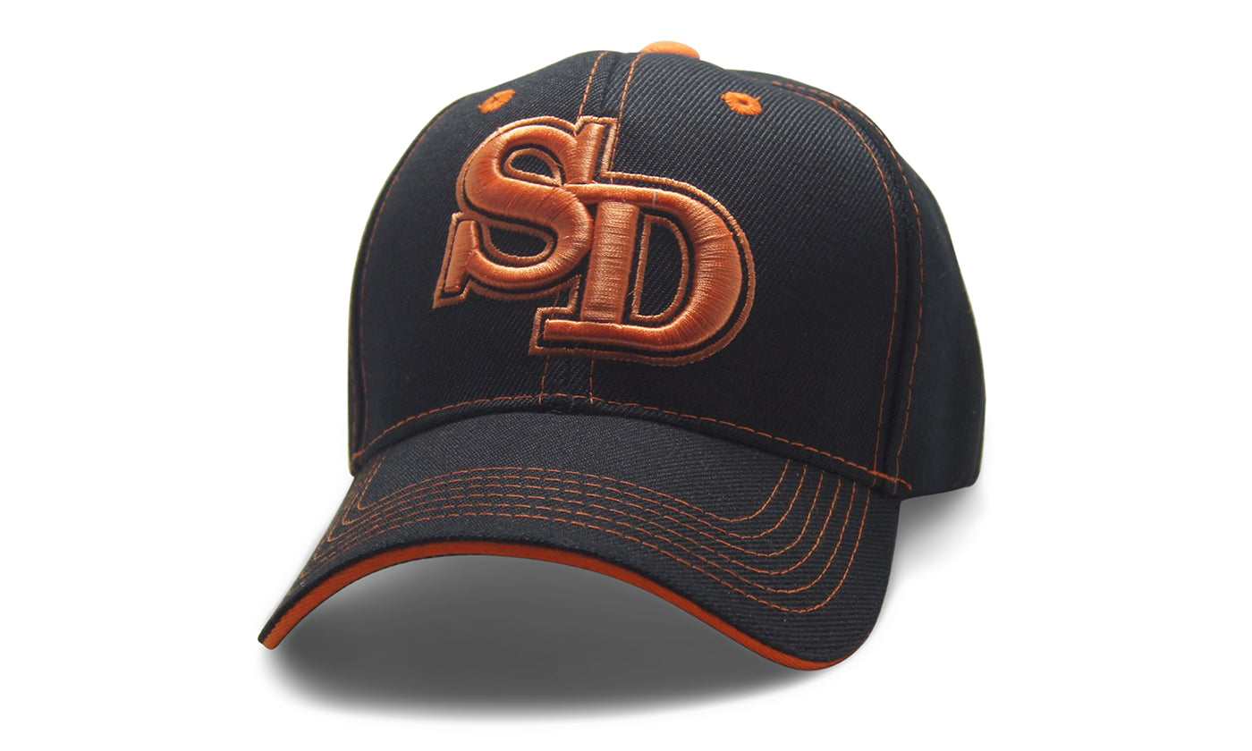 City Initals San Diego Black n Orange