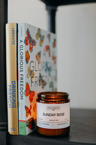 Sunday Rose Candle