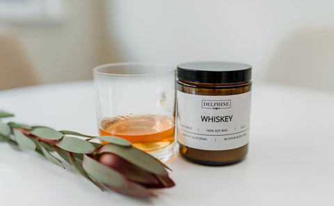 Whiskey Candle