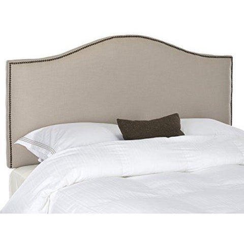 Safavieh Mercer Collection Connie Queen Headboard with Nailheads Trim
