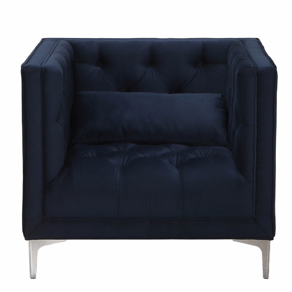 Modern Navy Blue Upholstered Button Tufted Accent Club Arm  : 50357fa9c64d db30 4431 9df7 05e70be9760601024x1024 from modhausliving.com size 1024 x 1024 jpeg 63kB