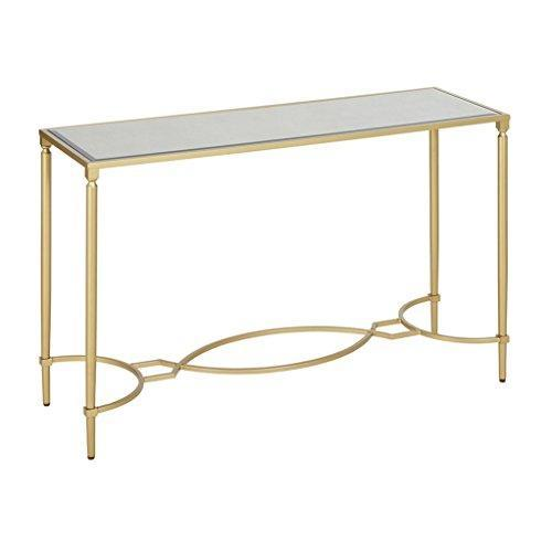 Classic Antique Gold Living Room Accent Console Entry Sofa Table