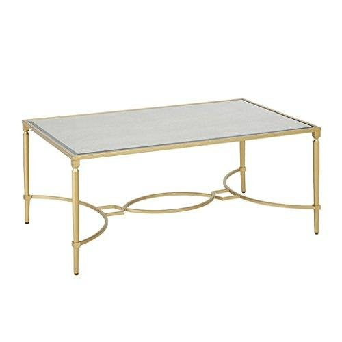 Classic Antique Gold Living Room Accent Occassional Cocktail Coffee Table