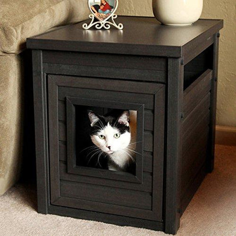 Contemporary EcoFlex End Table with Hidden Kitty Litter Box