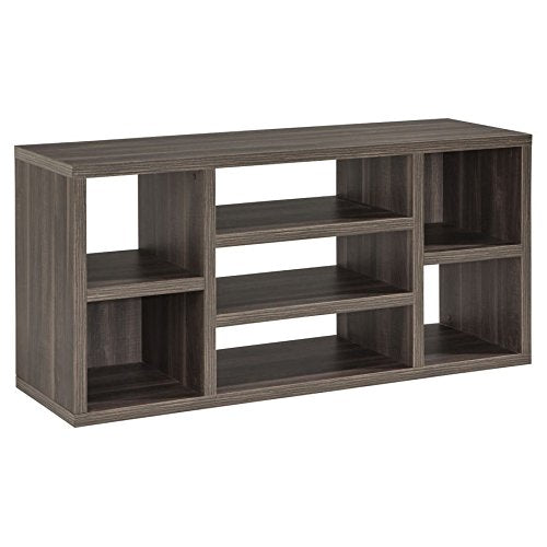 ModHaus Living Modern 60 Inch TV Stands with 7 Shelves