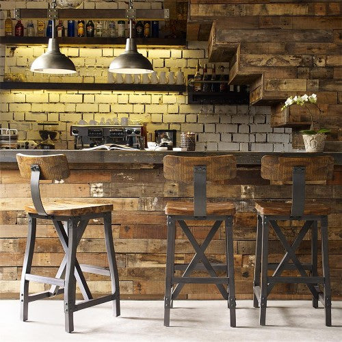 Industrial Rustic Barstools and Dining Chairs