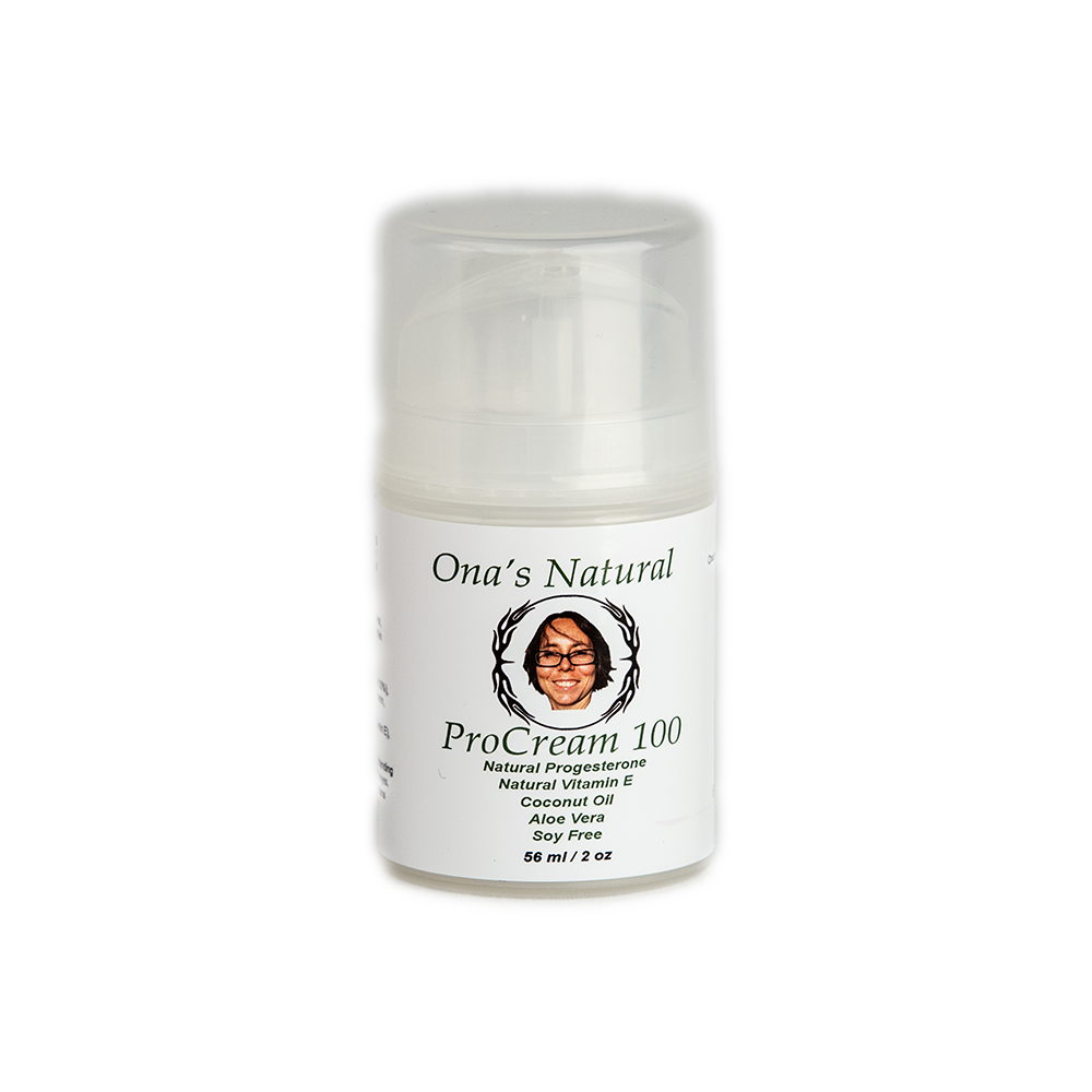 Ona's 10% Concentrated Natural ProCream 100 - Coconut Oil, 2 oz pump