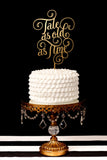 Tale as Old as Time Wedding Cake Topper
