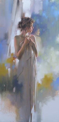 Hidden Reflection  - Hand Embellished Giclée on Canvas by Richard Johnson