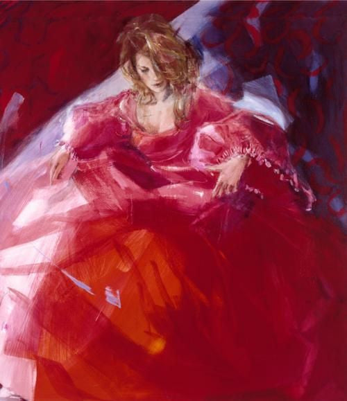 To the Ball - Giclee Canvas by Christine Comyn