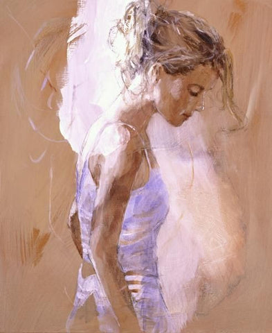 Reflection Canvas on Board by Christine Comyn