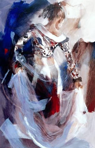Bolero - Giclee Canvas by Christine Comyn