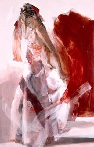 Elegance - Giclee on paper by Christine Comyn