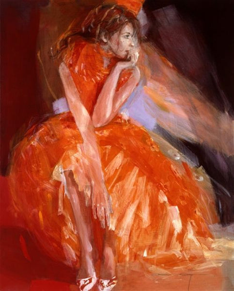 After the Ball Canvas on Board by Christine Comyn