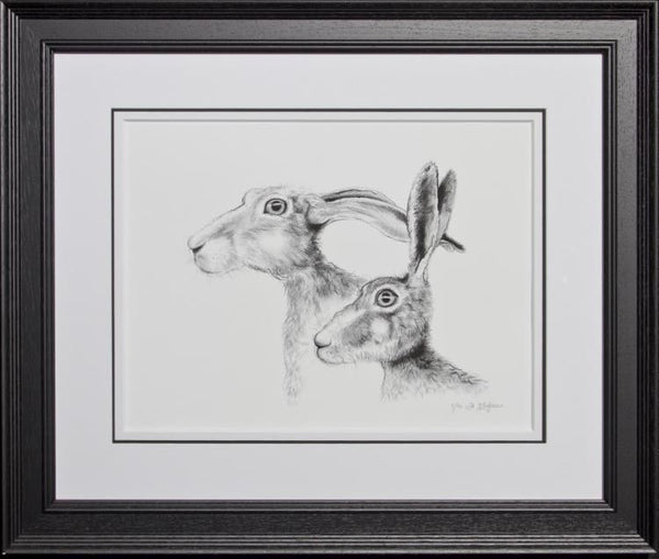 On the Look Out - Framed .... - Giclee on paper by Al Hayball
