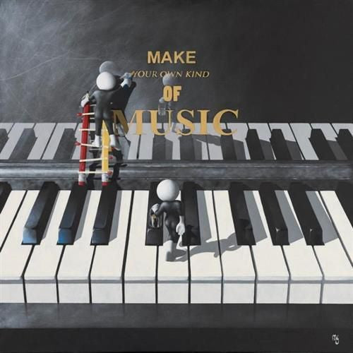 Make Your Own Kind Of Music - Giclee on Canvas