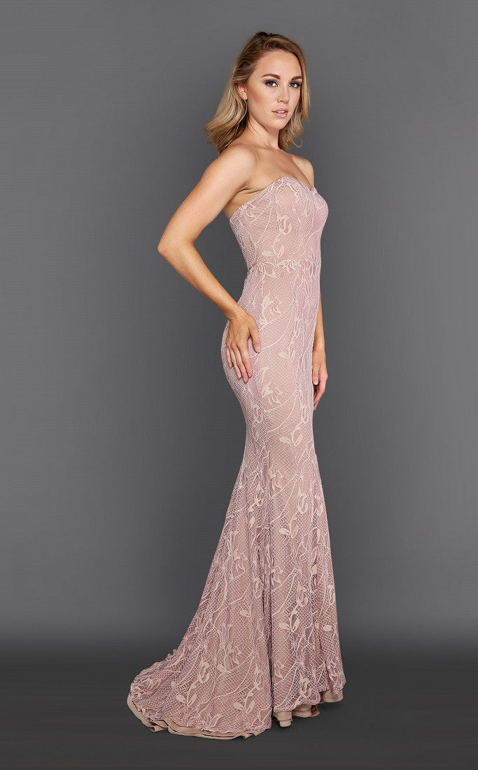 Everlyn Pink Gown