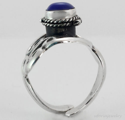 Taxco Vintage Style 925 Poison Ring Adjustable - Uforia