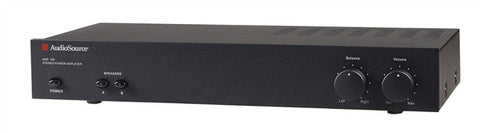 Audiosource AMP 100 50-watt Stereo Zone Amplifier w/AB switching and auto-sense (REFURBISHED WITH 90-DAY WARRANTY))