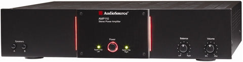 Audiosource AMP 110 110-watt Stereo Zone Amplifier w/AB switching and auto-sense (REFURBISHED WITH 90-DAY WARRANTY))