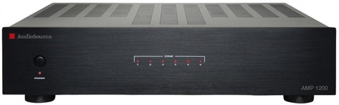 AudioSource AMP 1200 12-Channel (6-zone) 40-watt Audio Distribution Amplifier (REFURBISHED WITH 90-DAY WARRANTY)