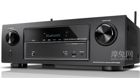 Denon AVRX1100W 7.2-Channel Receiver, 80 Watts, Bluetooth, Wifi, HDMI 2.0