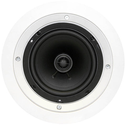 "Earthquake CM-6 Dual 6.5"" Dual Voice Swivel In Ceiling Speaker"