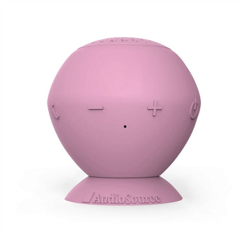 "Audiosource ""Sound Pop"" portable bluetooth speaker (pink)"