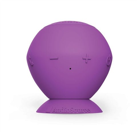 "Audiosource ""Sound Pop"" portable bluetooth speaker (purples)"