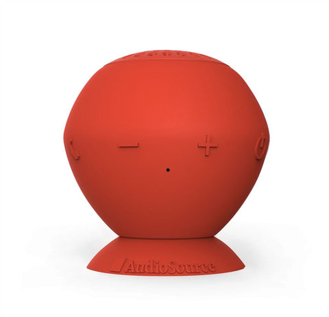 "Audiosource ""Sound Pop"" portable bluetooth speaker (red)"
