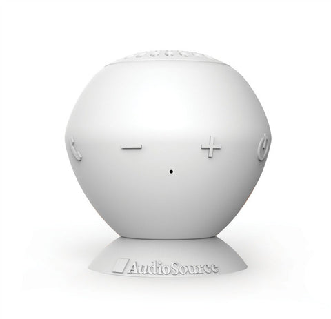 "Audiosource ""Sound Pop"" portable bluetooth speaker (white)"