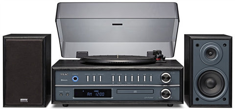 TEAC LPP1000CH Turntable Stereo System with CD/ Bluetooth - (Cherry)
