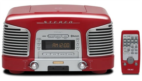 TEAC SLD930R Bluetooth/CD Sound System (RED)