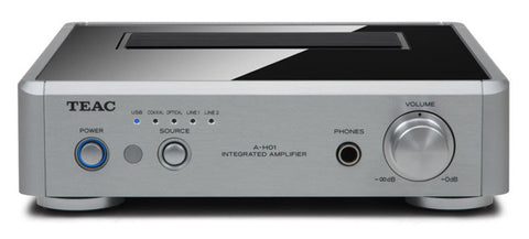 TEAC Reference AH01-S Micro Stereo Amplifier w/Burr-Brown 32bit DAC  *Silver
