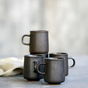 Mug Forest black / brown