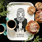 Tray -  in Sweden we call it a Fika