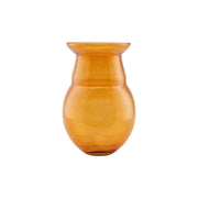 Vase in Glass, Airy in Mustard 30cm