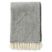 Freckles Wool Throw, 130 x 200cm, Granite - Blabar
