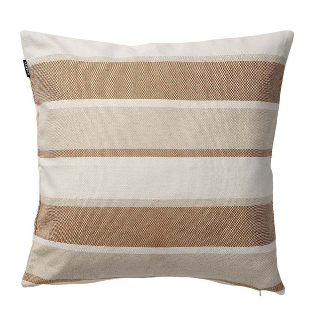 June Cushion Cover in Cotton & Linen, in Beige 45 x 45cm