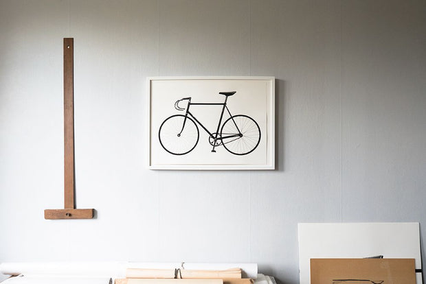 Screenprint Ride (bike) A3